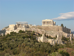 Greece. Athens. Acropolis of Athens