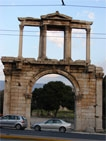 Athens. Arch of Hadrian
