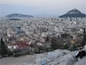 Athens. View of Monastiraki from the Hill of Areopagus