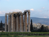 Athens. Temple of Zeus