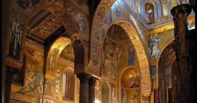 Норманнский дворец внутри