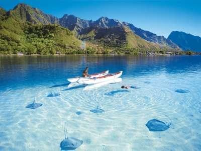 Прозрачная вода Красного моря