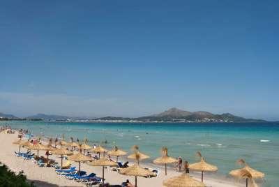 Пляж Playa de Muro