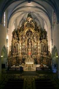 Алтарь в Церкви Санта Мария