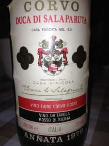 Вино Corvo di Salaparuta