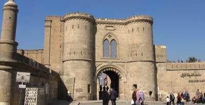 Вход в Каирскую цитадель