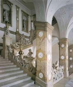 Лестница ангелов. Дворец Мирабель