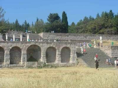 Остатки древнего храма