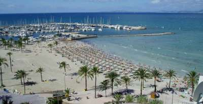Пляж Плайя де Пальма