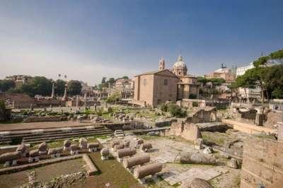 Раскопки на Римском форуме