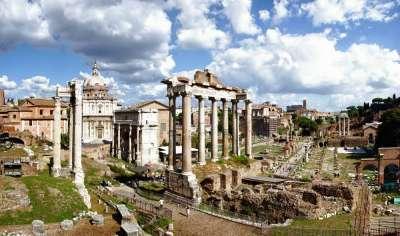 Римский форум. Вид сверху