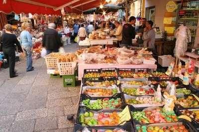 рынок Mercato della Vucciria