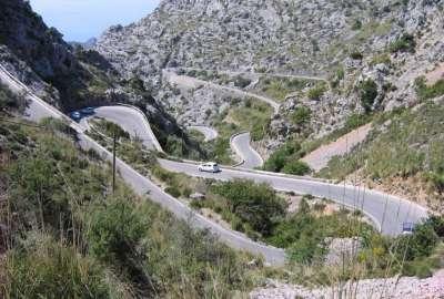 Горные дороги острова