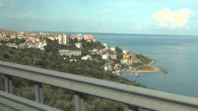 Дорога от Мессины до Палермо