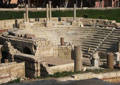 Остатки Древней Александрии