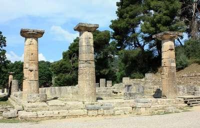 Палеополис. Храм Геры