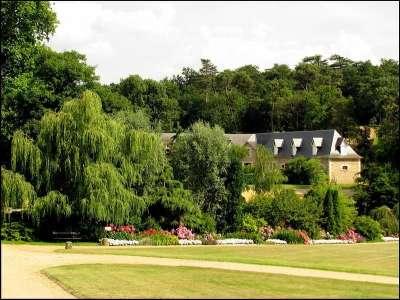Парк рядом с замком