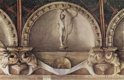 Потолочная фреска в женском монастыре Сан Паоло