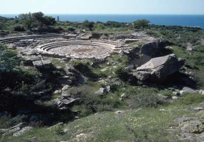 Раскопки на острове