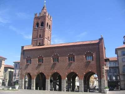 Arengario di Monza. Городская ратуша