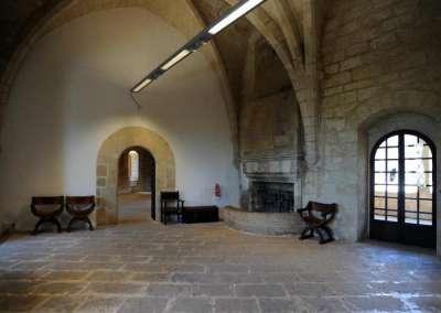 Замок Бельвер внутри