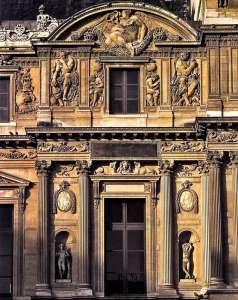Скульптурный декор Дворца