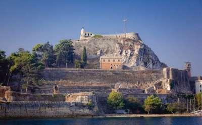 Средневековая крепость Корфу