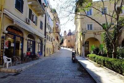 Улицы Корфу