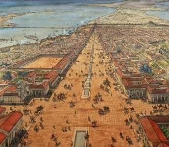 Иллюстрация Древней Александрии