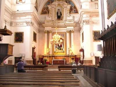 Картезианский монастырь Вальдемоссы внутри