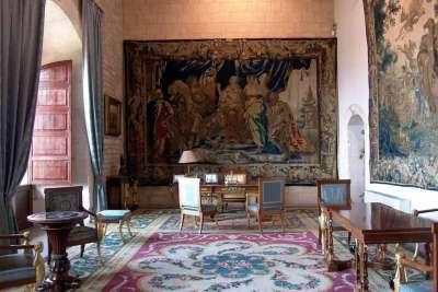Одна из комнат дворца