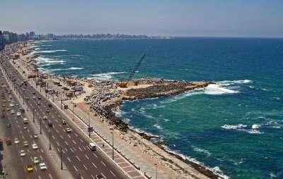 Побережье Александрии
