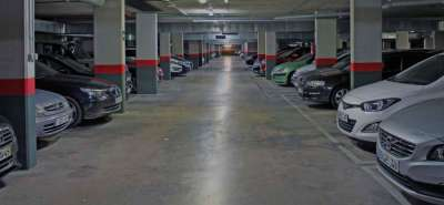 Подземный паркинг на Майорке