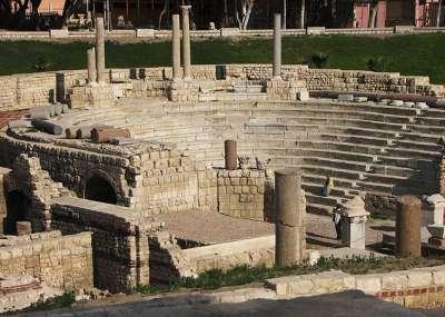 Раскопки Древней Александрии