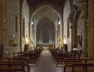 Собор Сан Франческо внутри