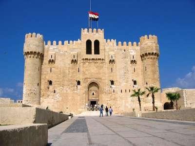 Крепость Кейт-Бей в Александрии