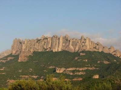 Гора Монтсеррат. Испания