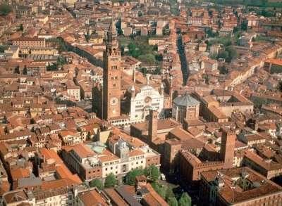 Город Кремона, Ломбардия, Италия