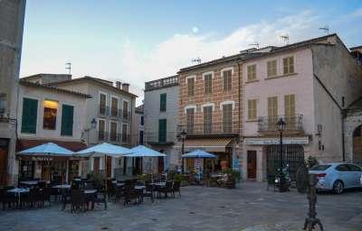 Рестораны на главной площади