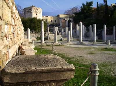 Римский базар в Афинах