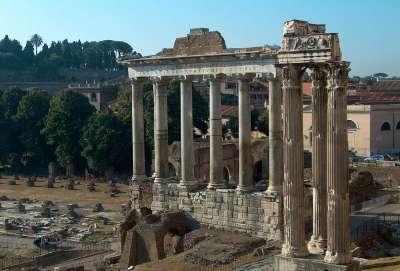 Руины Храма Сатурна