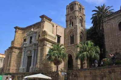 Церковь Santa Maria dell'Ammiraglio