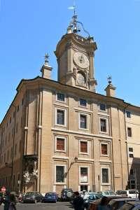 Башня с часами на углу Оратории