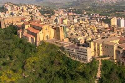 Вид на город и Долину Храмов сверху