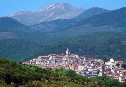 Город Фьюджи. Италия
