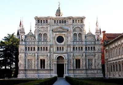 Монастырь Чертоза в Павии
