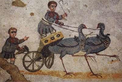 Римская мозаика. Вилла дель Казале