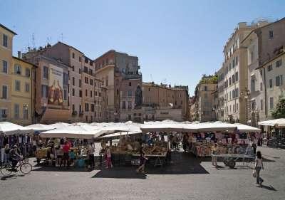 Рынок на Campo dei Fiori