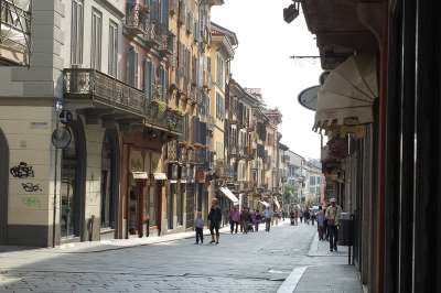 Улицы современной Павии