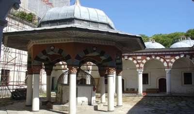Внутренний дворик Мечети